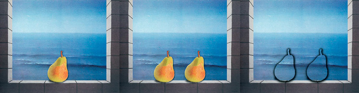 a pear a pair disapair